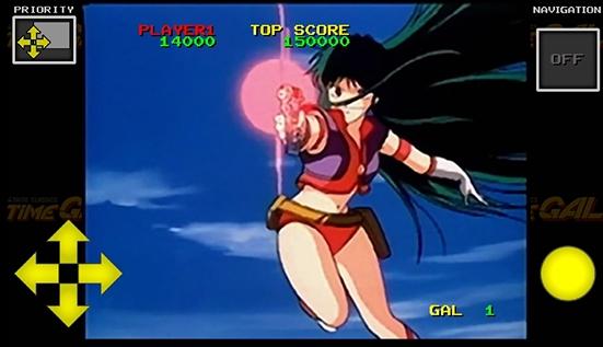 ↑全編通してアニメで表示し、場面場面でインタラクティブに操作するには、当時はレーザーディスクを利用するのが最適だった
