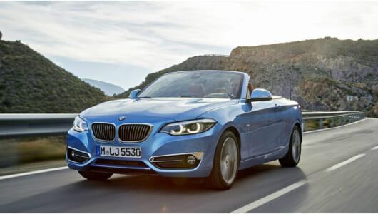 インテリアも一新! BMW新型「2シリーズ」クーペ&カブリオレが発進
