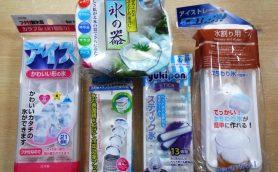 ペットボトルに直接氷を入れて冷やす! これは100均ならではのナイスアイデア!!