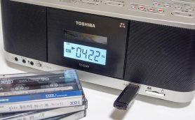 【最新CDラジカセ聴き比べ】SDカードにUSBに。デジタル録音機能が超便利! 東芝「TY-CDX9」