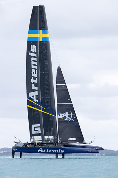 Artemis Racing. 8th of March, 2017, Bermuda