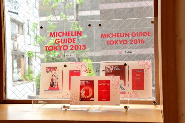 『ミシュランガイド』の¥5000以下で楽しめるカテゴリー・ビブグルマンに選出。しかも、2015年から3年連続という栄誉です