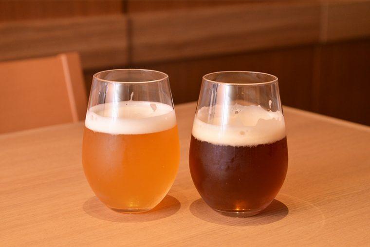 ↑左が柚子の香る「馨和 KAGUA」Blanc、右が山椒の効いた「馨和 KAGUA」Rouge/各800円