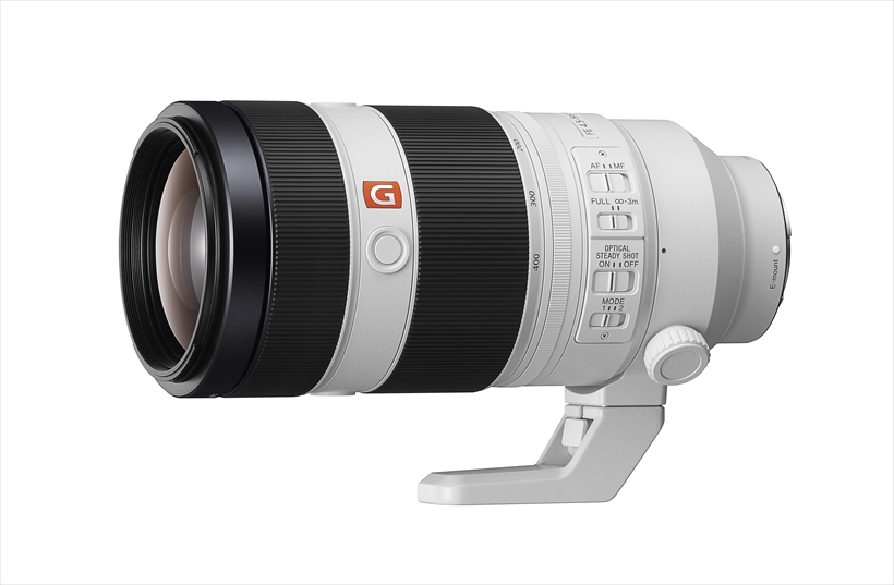 ↑ソニー FE 100~400ミリ F4.5-5.6 GM OSS 発売予定/ 5月26日 参考価格/ 53万8790円
