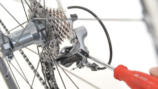 【画像多数】手順がわかれば意外にカンタン! ロードバイク・シマノのリアディレイラー調整方法