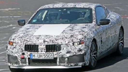 【スクープ】2018年の復活が正式決定! BMW新型「8シリーズ」の高性能版「M8」がニュルに現る