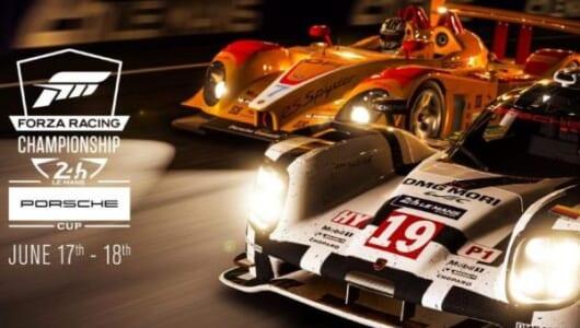 「レーシングゲーム」を使った24時間耐久レース!? ポルシェとマイクロソフトが開催!