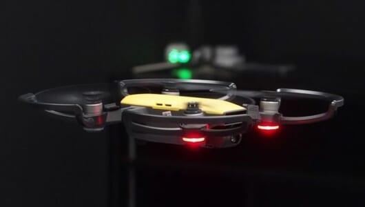 「指で四角を作ってパシャリ」が現実に!? ジェスチャーで操作できる小型ドローン「DJI SPARK」で空撮が身近に!