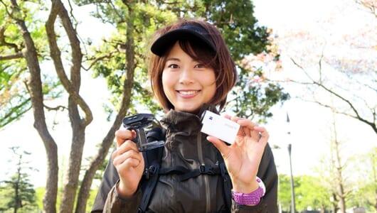 ランナーに最適なアクションカムの使い方とは? ソニー「HDR-AS300R」を使って中村 優が「撮るラン」に挑戦!