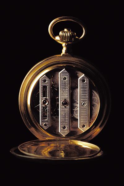 ↑1867年に出品されたスリー ブリッジ トゥールビヨン