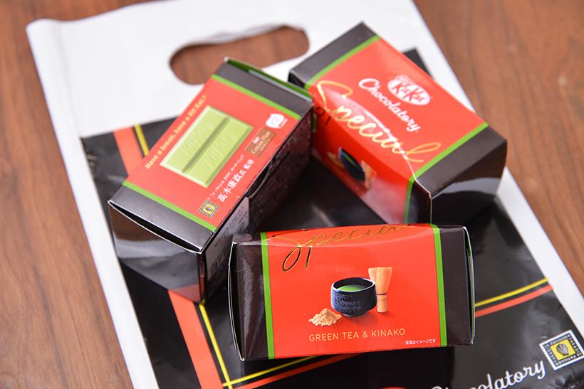 ↑キットカット ショコラトリースペシャル 抹茶&きなこ 抹茶/1箱432円
