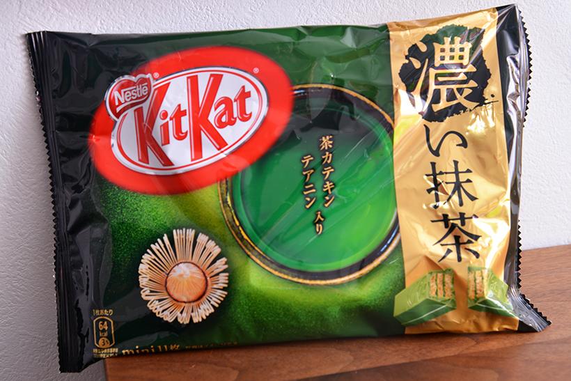 ↑キットカット ミニ 濃い抹茶(11枚入り)/540円