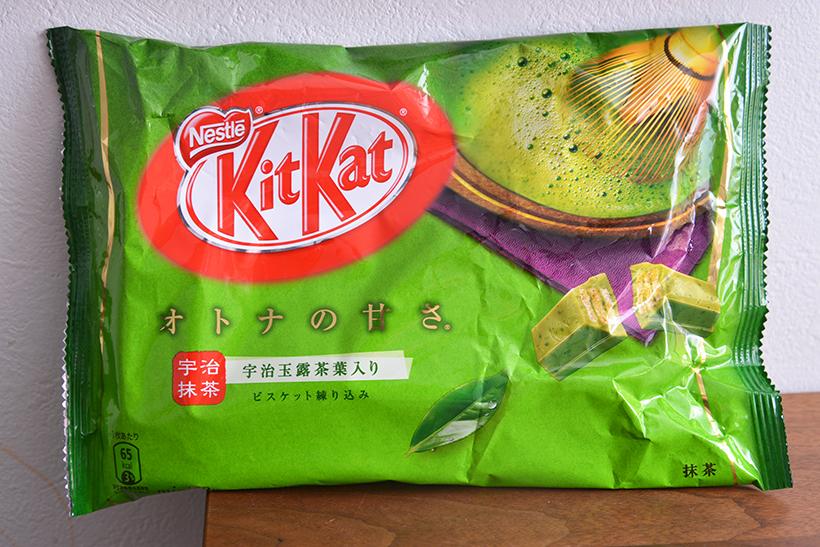 ↑キットカット ミニ オトナの甘さ 抹茶(12枚入り)/540円