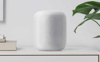 ↑WWDCで発表されたアップル「HomePod」
