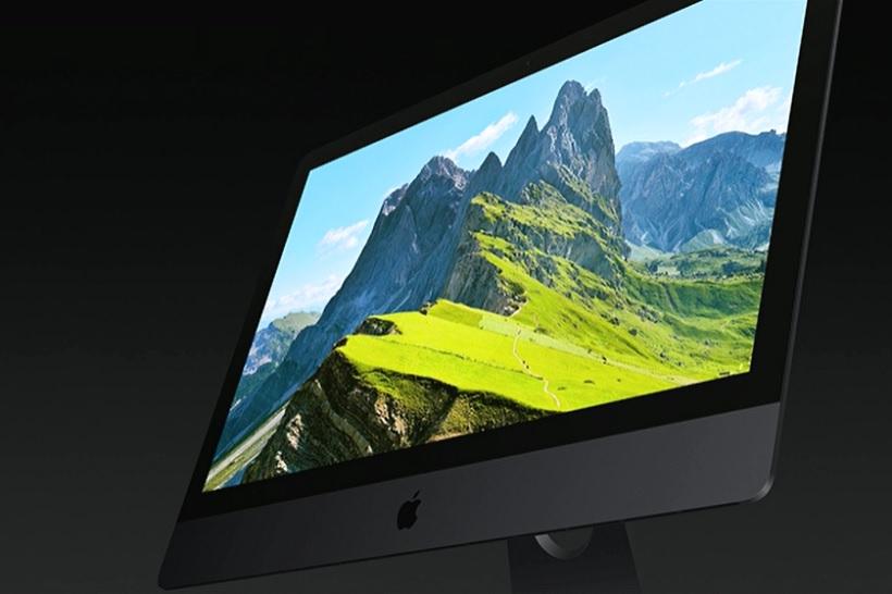 ↑Mac史上最高の性能を持つというiMac Pro