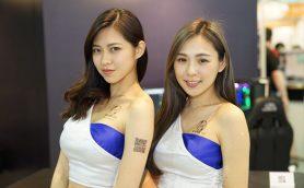 台湾に国内外の美女が集結! 華麗なるコンパニオンギャラリー【COMPUTEX2017】