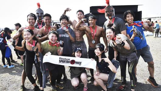 「過酷だけど面白い!」日本初開催で大成功を収めた「リーボックスパルタンレース」ーーその最大の魅力をレポート!
