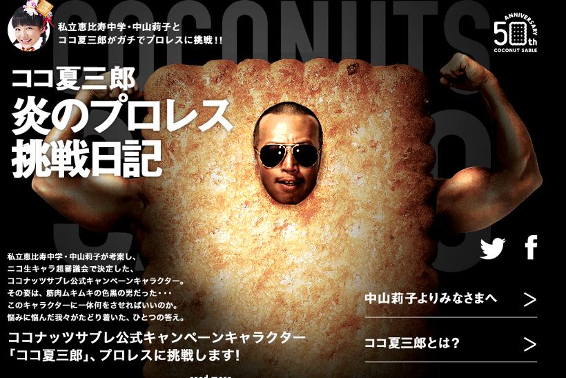 出典画像:「ココ夏三郎炎のプロレス挑戦日記」公式サイトより。