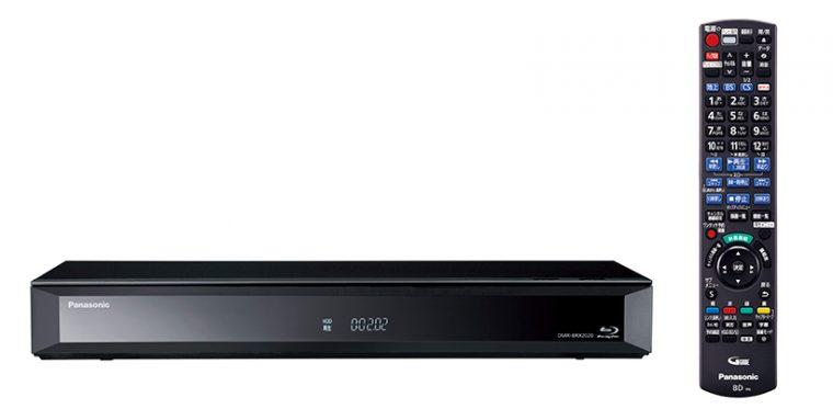 ↑2TB HDD搭載の全自動ディーガ「DMR-BRX2020」。こちらは現在生産終了となり、同じく2TB HDD搭載の後継モデル「DMR-BRX2030」が発売中