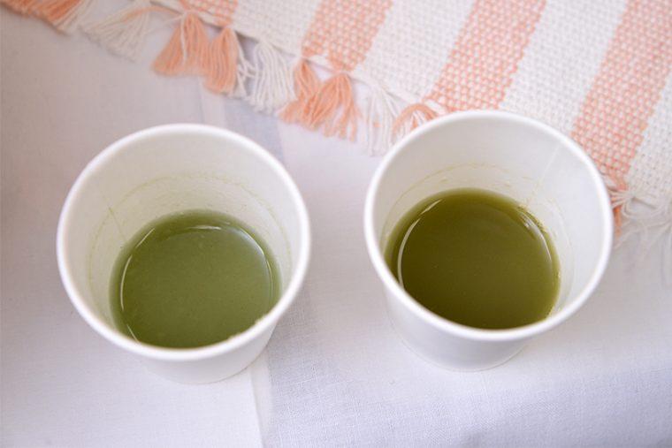 ↑左が新、右が旧。比較したところ、新しいほうが野菜の旨味と苦味が体感でき、健康的な印象です