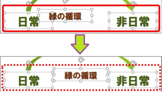 【パワポ】レイアウトが見違えるほどキレイになる「左右に整列」って何? いつ使う?
