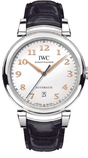 ↑IWC「ダ・ヴィンチ オートマティック」63万7200円/ Ref.IW356601/自動巻き/直径40mm、厚さ10mm/3気圧防水