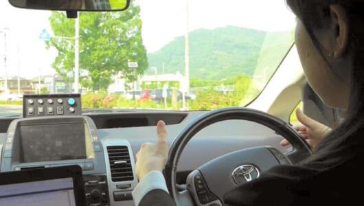 【緊張と感嘆の動画】ハンドル握らず手に汗握る!? 自動運転するクルマを車内から見たらスゴかった!