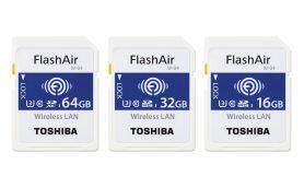 無線LAN搭載SDカード「東芝 FlashAir」 が第4世代に進化! 基本性能と転送速度が大幅にアップ