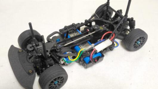タミヤの最新RCカー「M-07 CONCEPT シャーシキット」を組み立ててみた【RCメカ類の搭載】