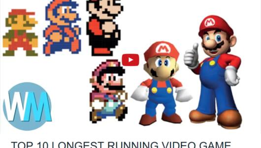 3位「マリオ」2位「ドンキーコング」……1位は!? 海外で発表された「ロングランゲームランキング」