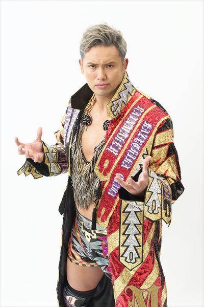 ↑第65代IWGPヘビー級王者、オカダ・カズチカ選手  ©新日本プロレス