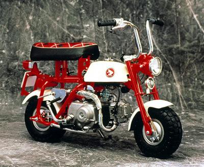 ↑記念すべき初の日本国内販売モデルとなったモンキー「Z50M」