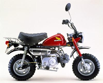 ↑1978年には「Z50j」がさらにリニューアル。ガソリンタンクやシートなど、それまで以上の合理化が図られている