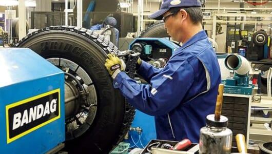 廃タイヤを6万トン輸入!? リサイクル率9割以上!? 数字で見る自動車用タイヤの世界