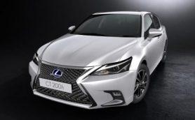 日本での発売は今秋か!? レクサスのハイブリッド専用車「新型CT」が公開