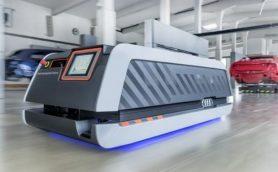 ドローンや無人運搬車で効率化を――アウディ「スマートファクトリー」は最新技術の塊!