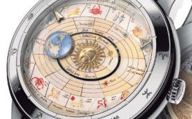思わず見惚れる芸術的な天文時計! ヴァシュロン・コンスタンタンの2017新作ウオッチ