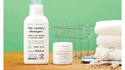 最も白くなる「激落ち洗剤」はどれだ? Tシャツに4つの汚れを付着させて検証!