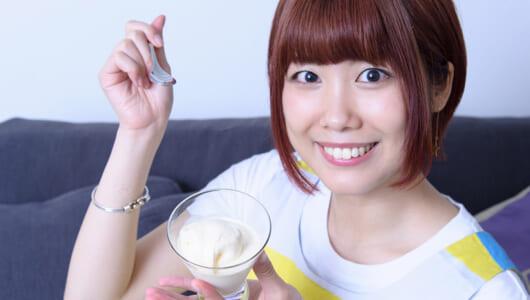 """冷たいアイスがたった2時間で作れる! 声優・前田玲奈が""""手作りアイス""""に挑戦!"""