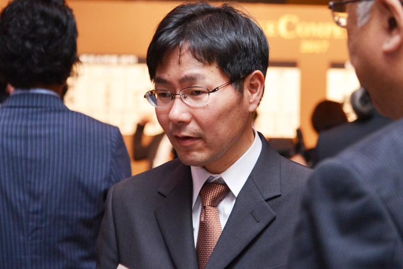 ↑内山智広杜氏