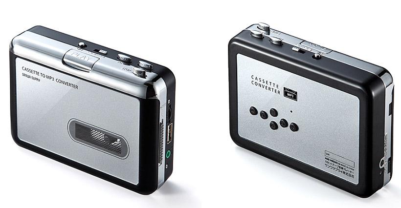 ↑サンワダイレクト「カセットテープ変換プレーヤー 400-MEDI016」(販売価格:5480円)