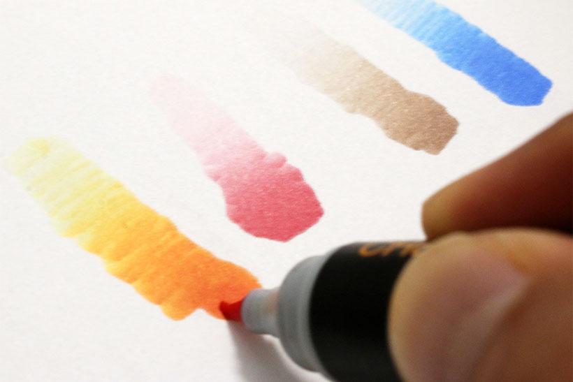 ↑塗るだけで勝手に美しいグラデーションになる