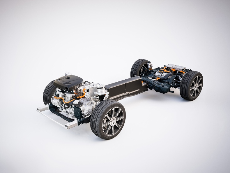 The new Volvo XC60 - T8 powertrain