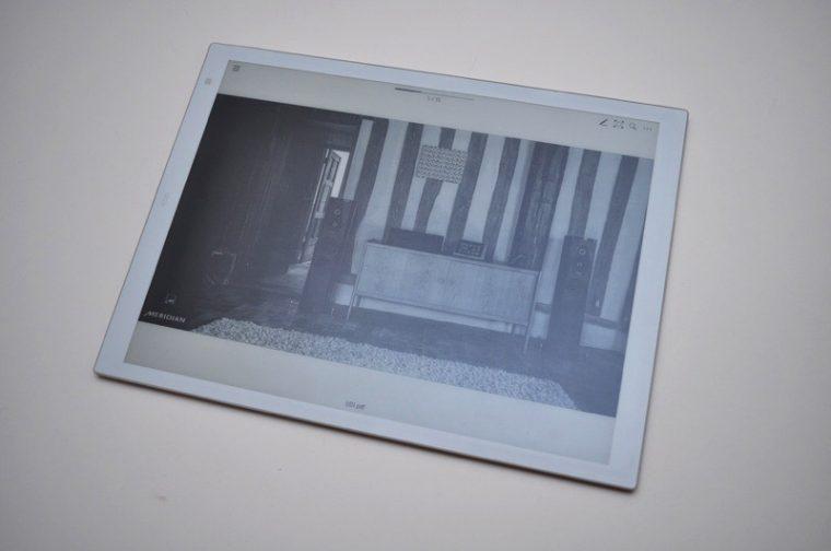 ↑PDFの写真を表示。まずまずの視認性を確保している