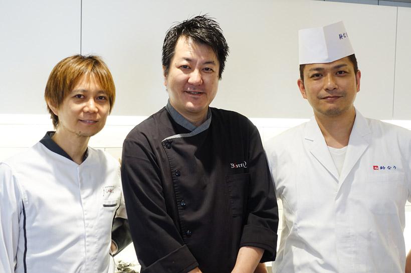 ↑左から、横江直紀さん、山下九さん、村田明彦さん