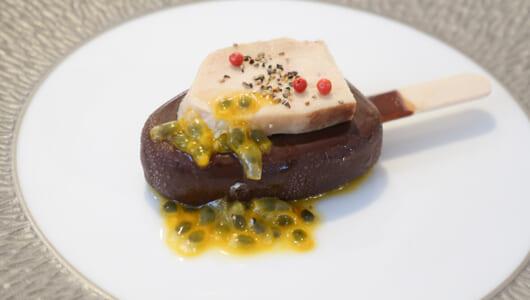 アイス「パルム」にフォアグラやトマトを合わせてみたら……和・仏・伊の一流シェフが特別デザートを提供!