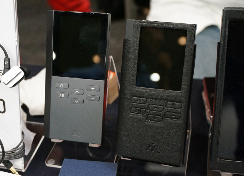 ↑年内に発売を予定する新型プレーヤー「AR-M200」