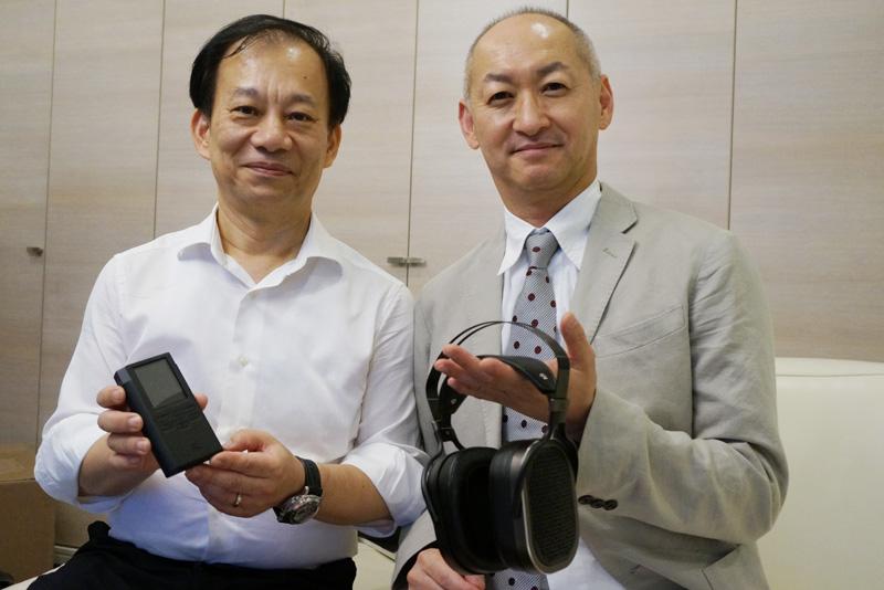 ↑VOX InternationalでAcoustic Researchを担当するエリック・スー氏(右)とレイモンド・チャン氏(左)