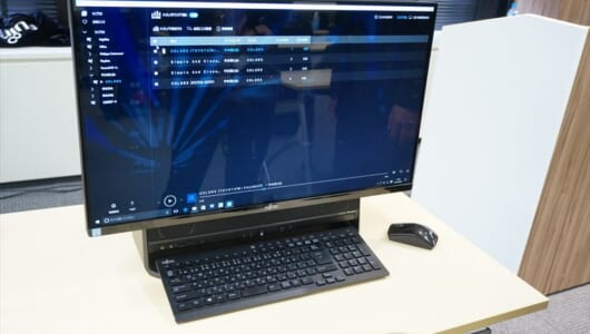 ハイレゾ再生&テレビ視聴も可能なディスプレイ一体型PC! 富士通の人気シリーズ最新モデル「ESPRIMO FH90/B2」
