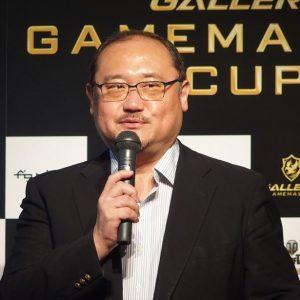 ↑e-sports促進機構 浜村弘一氏。野球で言えばカープ女子のようにプレイヤーでなくても楽しめるようにと語っていました